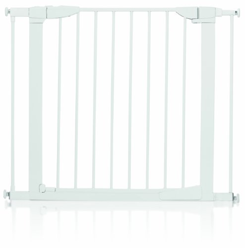Munchkin Auto-Close Metal Gate, White