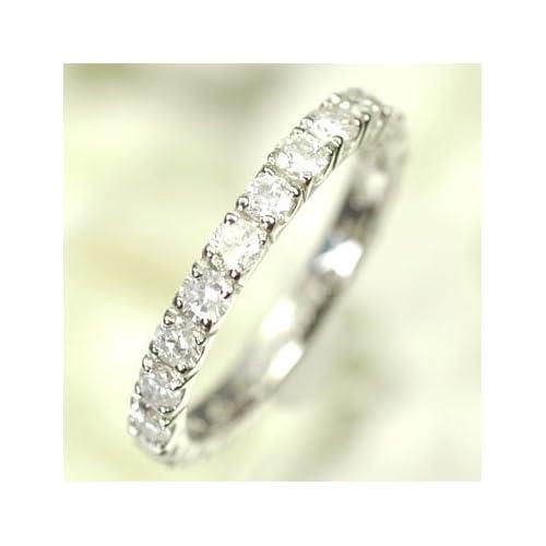 [キュートジュエリー]Cute jewerly ダイヤモンド 指輪 プラチナ ダイヤ1.0ct エタニティーリング 13