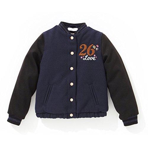 R Kids Bambina Giubbotto Teddy Taglia 94 Blu