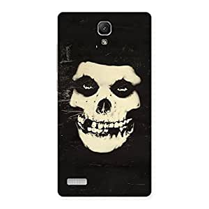 Gorgeous Vintage Skull Face Back Case Cover for Redmi Note 4
