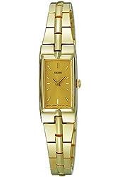 Seiko Women's SZZC44 Dress Gold-Tone Watch