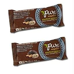 Pure Bar Ancient Grains Peanut Butter Chocolate Bars, 1.23-ounce Bars (Pack of 12)