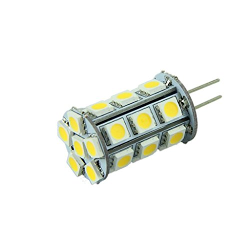 How Nice 12V New Gy6.35 3W 5050 Smd 280Lm Warm White Light Led Corn Bulb- Pack Of 3