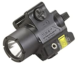 Streamlight 69240 TLR-4 Compact Rail Mounted Tactical Light with Laser Sight