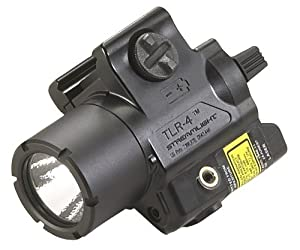 Streamlight 69240 TLR-4 Compact Rail Mounted Tactical Light with Laser Sight by Streamlight