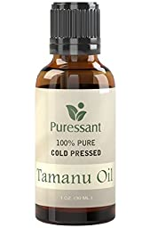 Tamanu Oil (Foraha Oil) - 100% Pure Cold Pressed 1 Ounce - Treats Acne, Psoriasis, Eczema, Toe Nail Fungus, Shingles and More!