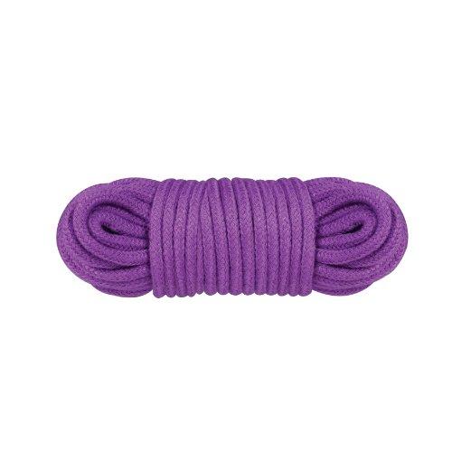 NMC Bondage Rope - Fessel Seil für fesselnde Spiele - 10 m lang - Durchmesser: 6 mm - violett