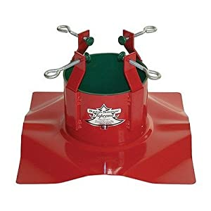 #!Cheap Christmas Mountains Mfg Inc TS99 Indoor Steel Tree Stand - Red