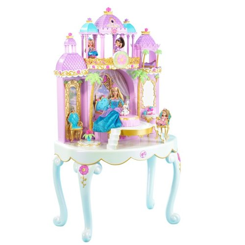 Mattel Barbie Island Princess Magical Castle Vanity
