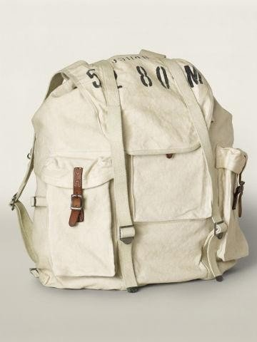 RRL ダブルアールエル リュック Canvas Backpack ONESIZEMenrrl TwoToneGreige[並行輸入品]