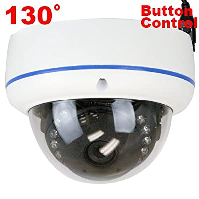 GW High End CCTV Surveillance Security Camera, 130? Fisheye Lens, Sony CCD, Effio-E 700 TV Lines