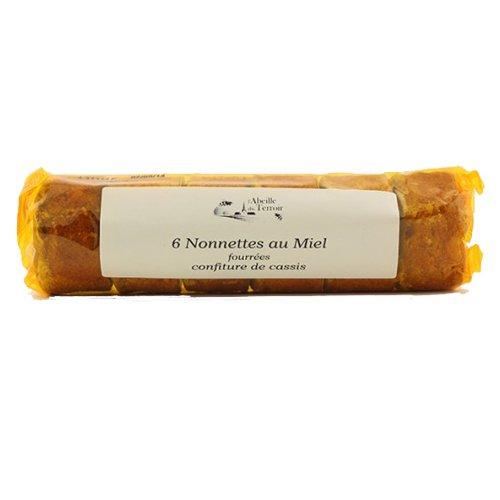 Nonnette fourrees cassis en rouleaux Recette artisanal. Pour gouter desserts.