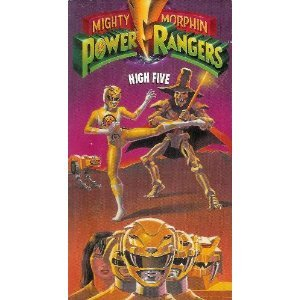 Amazon.com: Mighty Morphin Power Rangers: High Five [VHS]: Paul