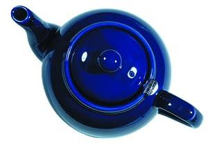 London Pottery 6 Cup Filter Teapot Cobalt Blue