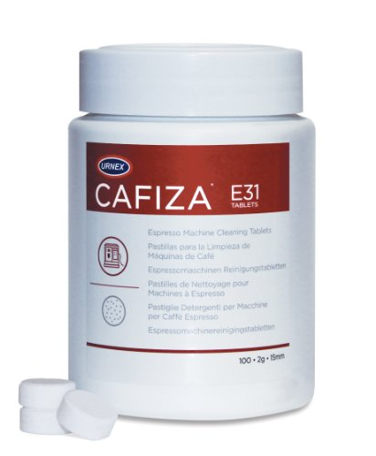 Urnex Cafiza Espresso Machine Cleaning Tablets,  100 Tablets (Expresso Machine Cleaning Tablets compare prices)