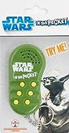 Underground Toys Star Wars In Your Pocket Talking Keychain  Yoda