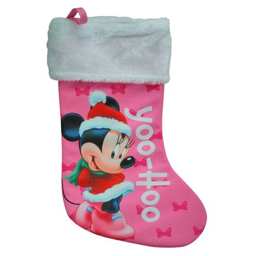 "WeGlow International Minnie Mouse 18"" Jersey Fully Printed Stockings"