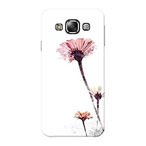 INKIF Soldier Designer Case Printed Mobile Back Cover for Samsung Galaxy E5 (Pink )