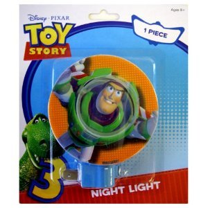 Disney Pixar Toy Story 3 Buzz Lightyear Kids Room Nursery Night Light - 1