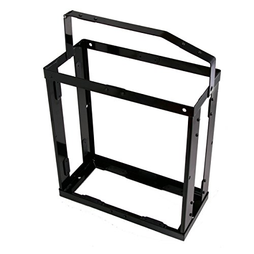 Wavian USA JC0020HV Authentic NATO Steel Jerry Fuel Can Holder Single (20 Litre) (Jeep Jerry Can Holder compare prices)
