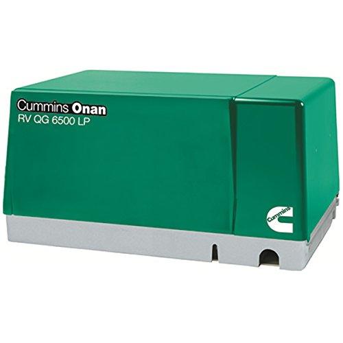 Cummins Onan 6.5 Hgjab-1272 - Rv Generator Set Quiet Lp Vapor Series Rv Qg 6500
