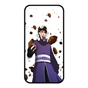 Naruto Uchiha Obito Broken Mask Fly Rocks Unique Durable TPU Rubber Case Cover for Apple Iphone 4 4S Custom Design Fashion DIY