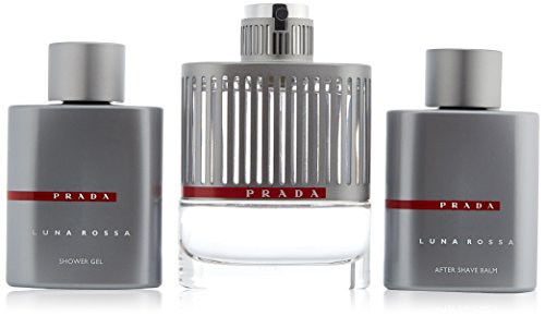 Prada Luna Rossa 3 Piece Gift Set for Men