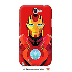 Real Iron Man Galaxy Note 2 case