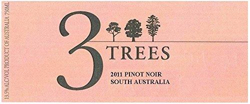 2011 3 Trees South Australia Pinot Noir 750 Ml