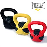 Everlast Fortek Kettlebell Weight Set - Multicoloured, 15 Kg