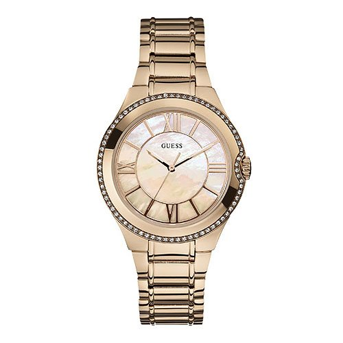 Guess W15077L1 Ladies MOONBEAM Rose Gold Watch