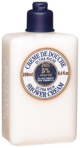 L'Occitane Shea Butter Ultra Rich Shower Cream, 8.4 fl. oz.
