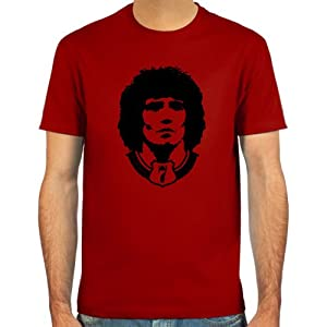 T-shirt Kevin Keegan Colours Skyblue Sand White And Deepred Sizes S-xl Football from fcspielraum.de