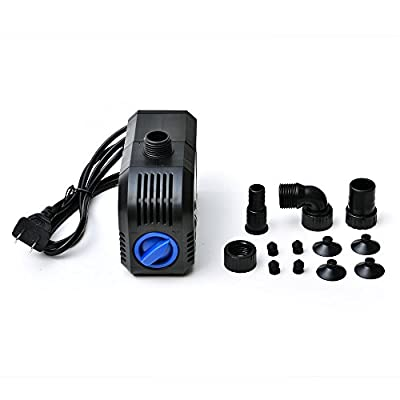 AGPtek Electric Submersible Pump Fountain Pump for Indoor/Outdoor