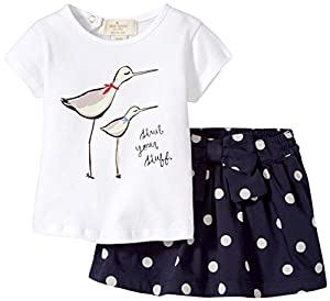 kate spade york Sandpiper Tee and Skirt (Baby)