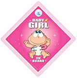 Baby Girl on Board Car Sign Baby on Board Sign Baby Girl on Board Car Sign Pink Original Baby Girl Car Sign Baby on Board Baby Signs Baby Car Sign Decal Bumper Sticker