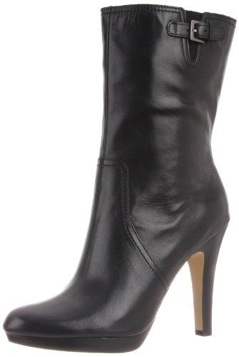 Ak Anne Klein Women'S Lionna Le Boot,Black,9.5 M Us