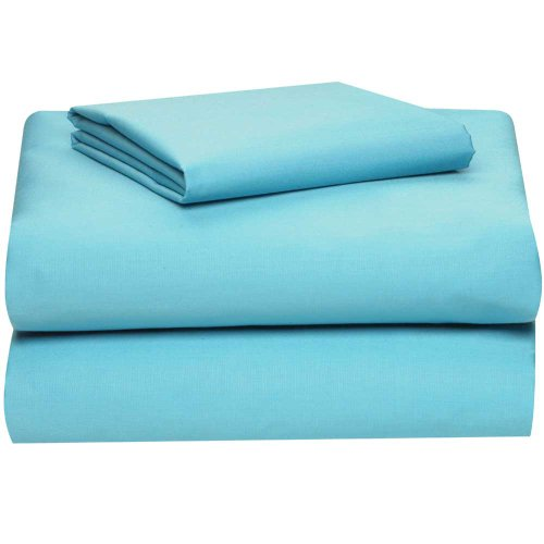Lowest Prices! Aqua College Classic 3-Piece Twin XL Sheet Set