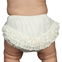 Infant and Toddler Ruffled Diaper Cover Rumba Pants (3)
