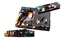 Elton Battle Field 4 Theme Skin Sticker Cover for Xbox One Console, Kinect & Controllers
