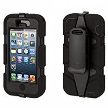 buy Griffin Black/Black Heavy Duty Survivor All-Terraincase For Iphone 5/5S