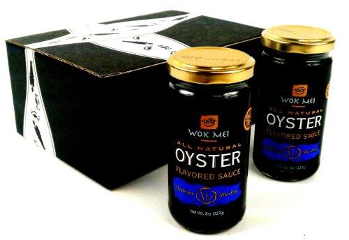 Wok Mei Gluten Free Oyster Sauce, 8 oz Jars in