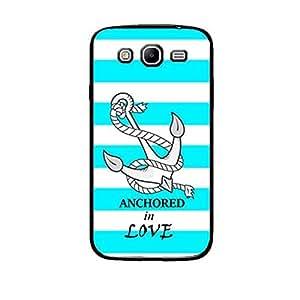 Vibhar printed case back cover for Samsung Galaxy Mega 5.8 LoveAnchored