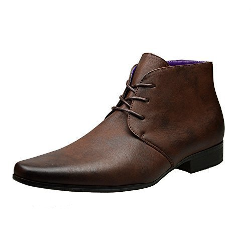 mens-brown-leather-smart-formal-casual-lace-up-boots-shoes-uk-size-6-7-8-9-10-11-uk-11-45-brown