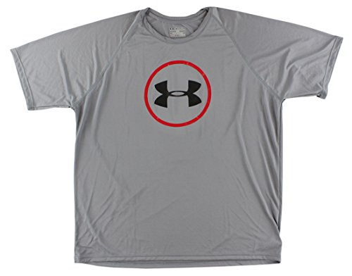 Under Armour Men's UA Core Logo T-Shirt XX-Large Steel