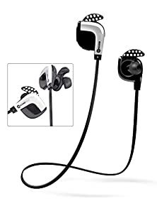buy Soundwhiz Wireless Running Headphones Sweatproof. In-Ear Bluetooth Earbuds For Running Workouts Sports & Fitness W/ Mic & Siri. Wireless Earphones For Iphone, Galaxy, Htc, Smart Devices