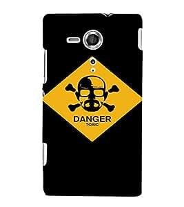 EPICCASE Breaking bad guy Mobile Back Case Cover For Sony Xperia SP (Designer Case)