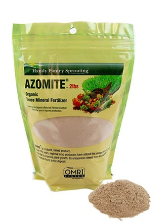 2 lbs of azomite omri organic trace mineral soil for Organic soil for sale
