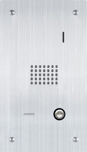 """Aiphone Corporation Is-Ss Audio Door/Sub Station For Is Series Local Hardwired Video Intercom, Stainless Steel, 10-7/16"""" X 5-15/16"""" X 1-5/8"""""""
