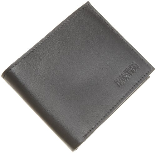 Kenneth Cole REACTION Men's Six Pocket Billfold,Black,One Size
